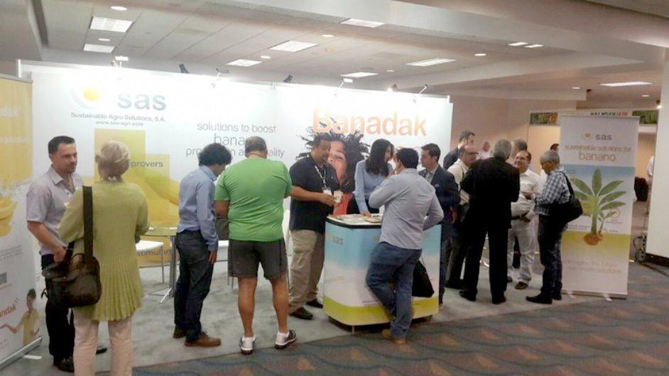 SAS participa con éxito en el VI Congreso internacional sobre el banano CORBANA y XXI Reunión Internacional ACORBAT