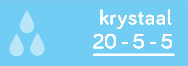Krystaal 20-5-5