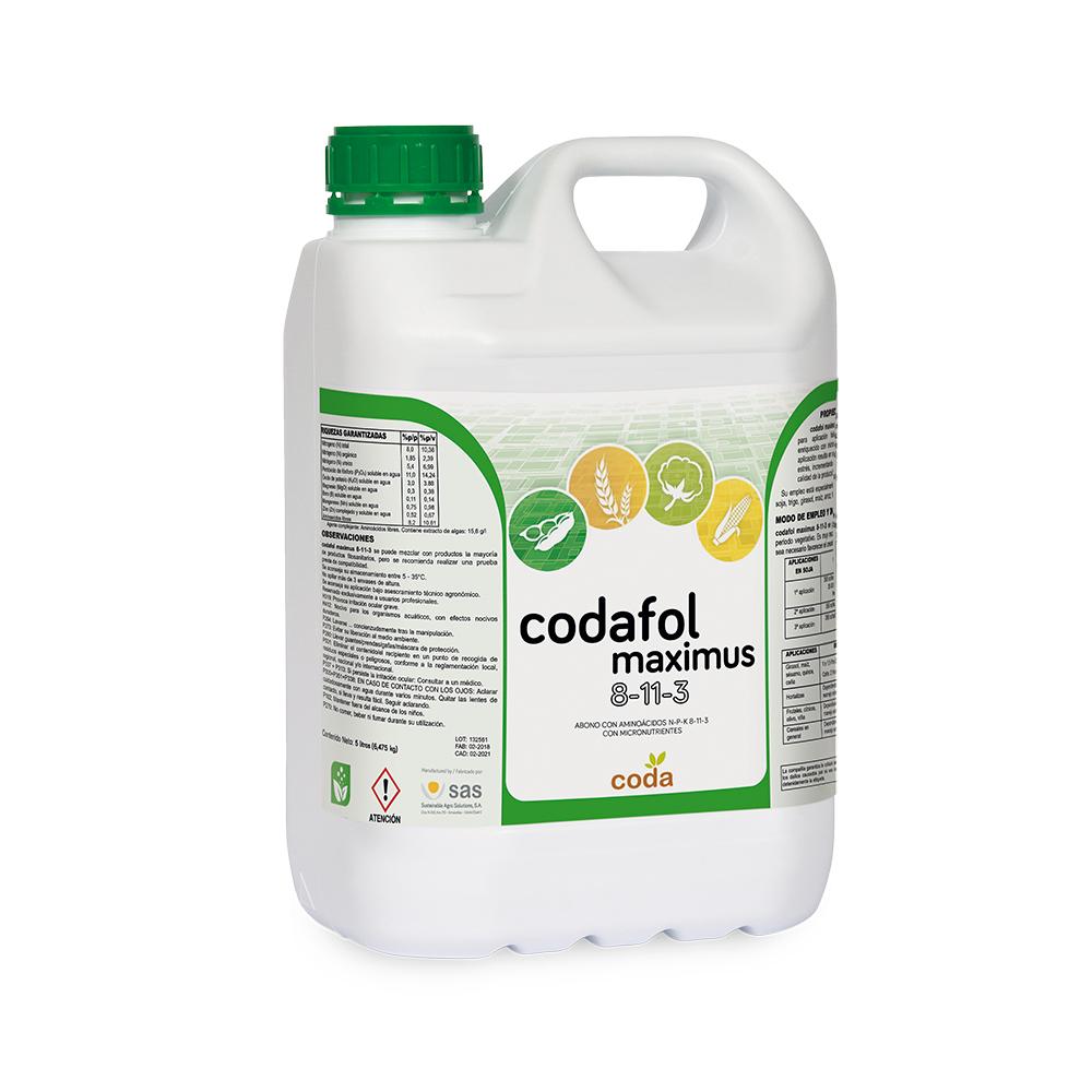 Codafol maximus 8-11-3 - Productos - CODA -SAS