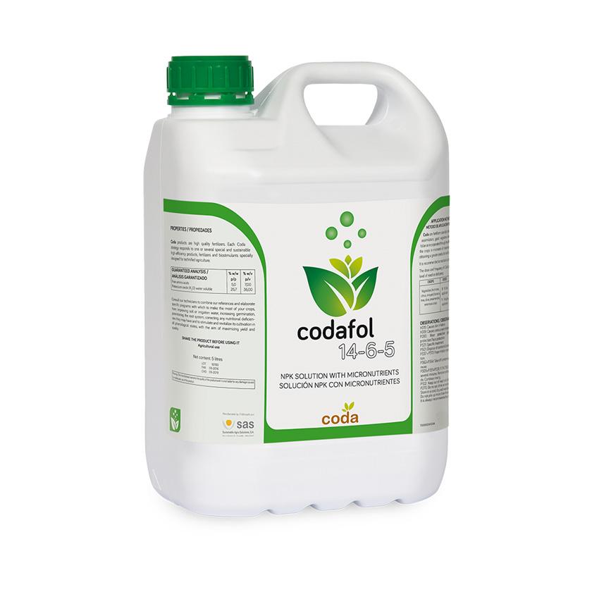 Codafol 14-6-5 - Productos - CODA - SAS