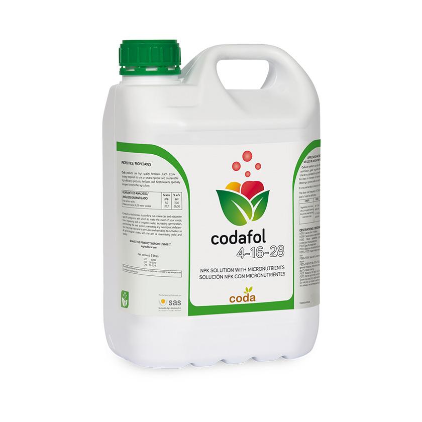 Codafol 4-16-28 - Productos - CODA - SAS