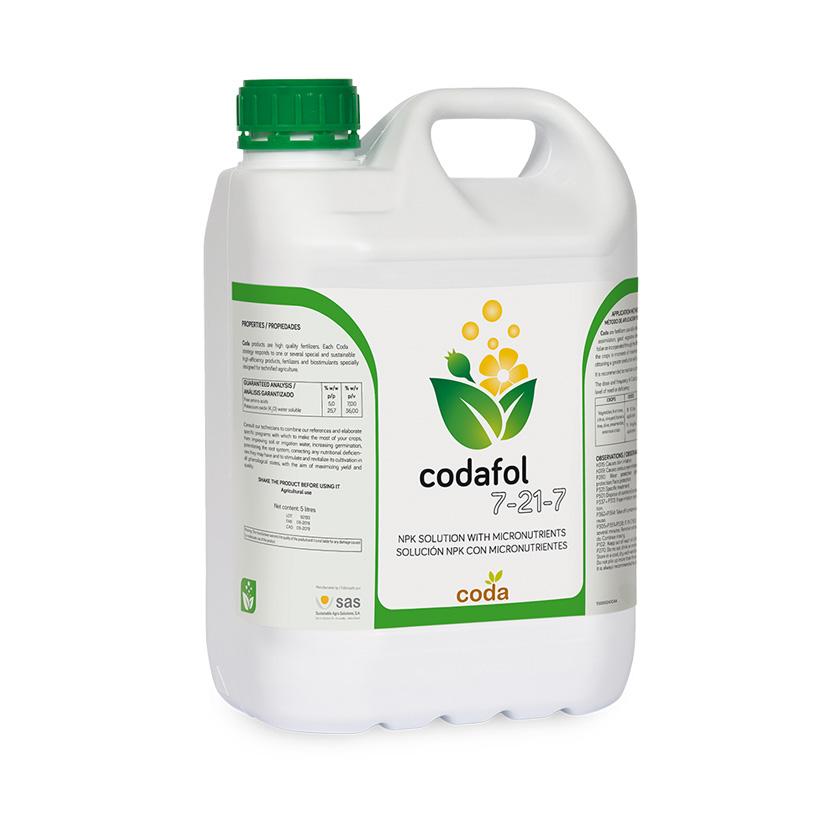 Codafol 7-21-7 - Productos - CODA - SAS
