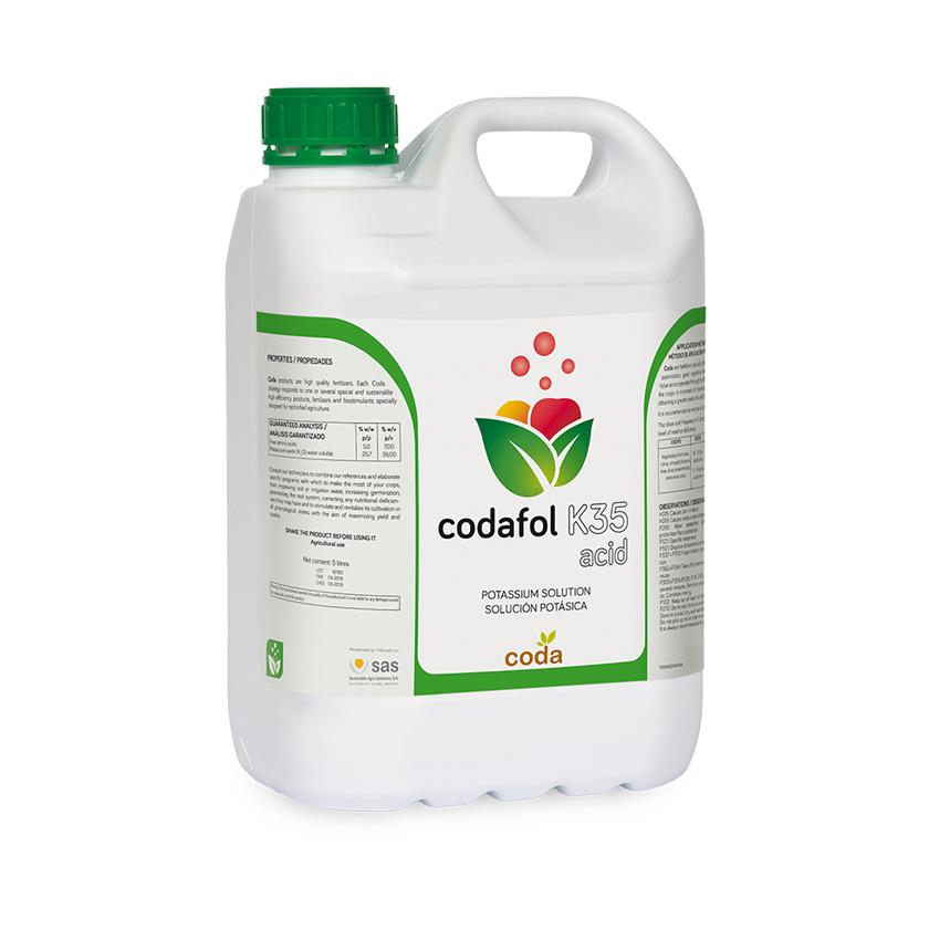 Codafol K35 acid - Productos - CODA - SAS