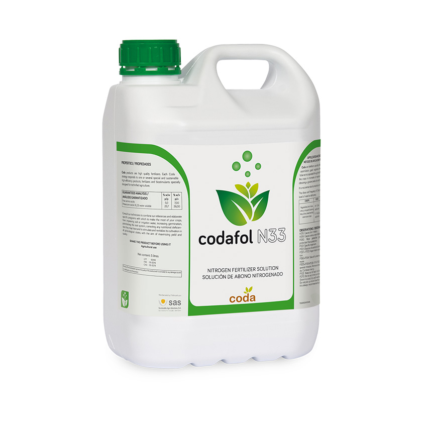 Codafol N33 - Productos - CODA -SAS