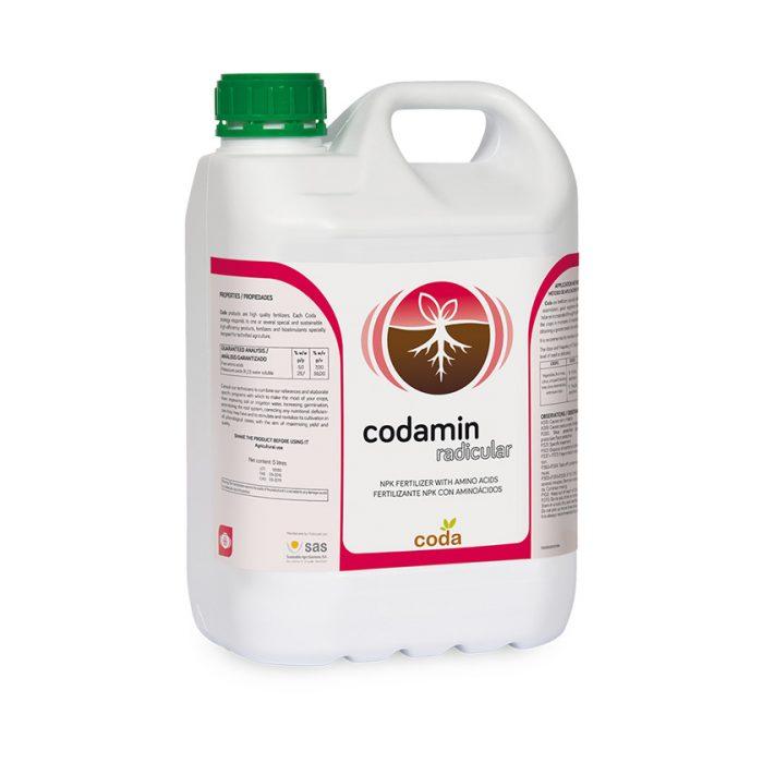 Codamin radicular - Productos - CODA -SAS