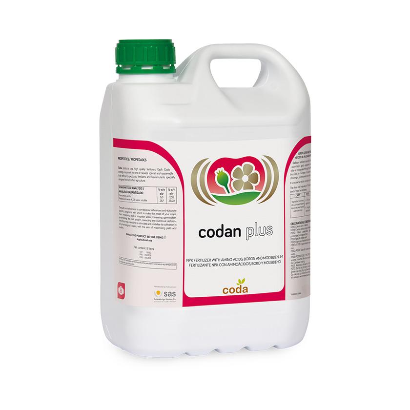 Codan plus - Productos - CODA -SAS
