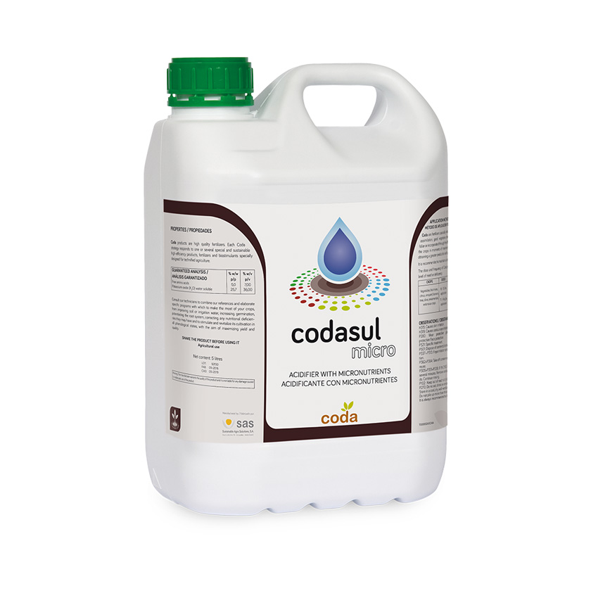 Codasul micro - Productos - CODA - SAS