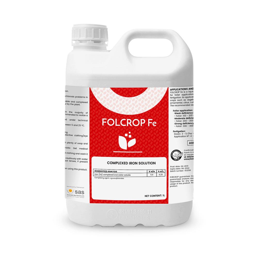 Folcrop Fe - Productos - FORCROP -SAS