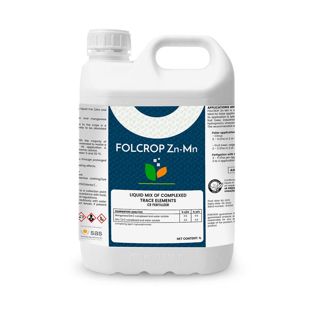 Folcrop Zn-Mn - Productos - FORCROP - SAS