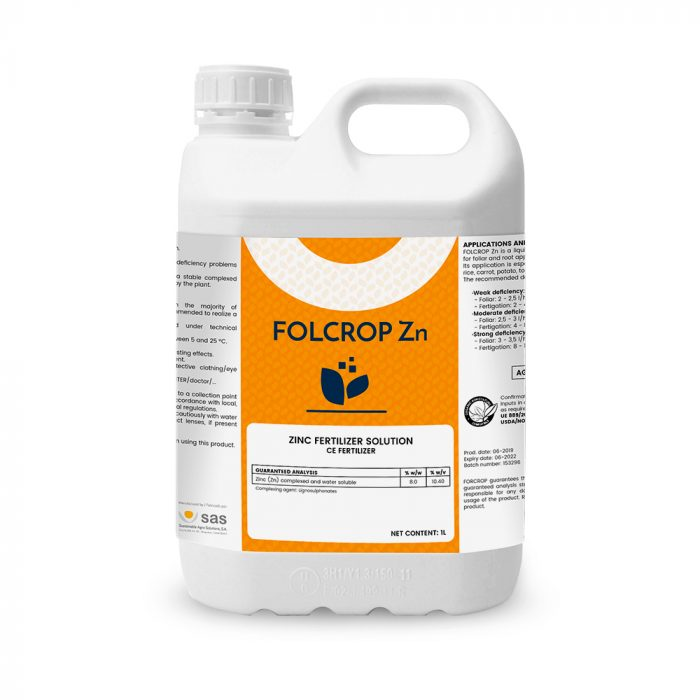 Folcrop Zn - Productos - FORCROP - SAS