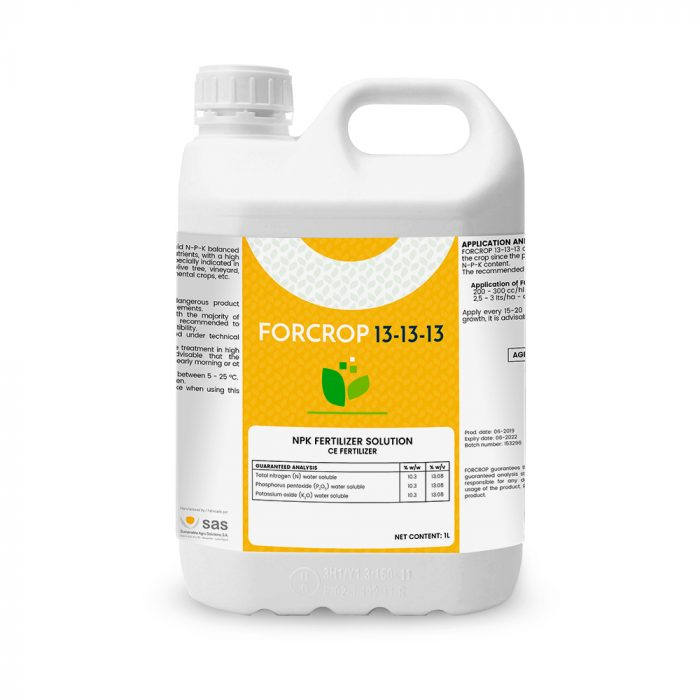Forcrop 13-13-13 - Productos - FORCROP - SAS