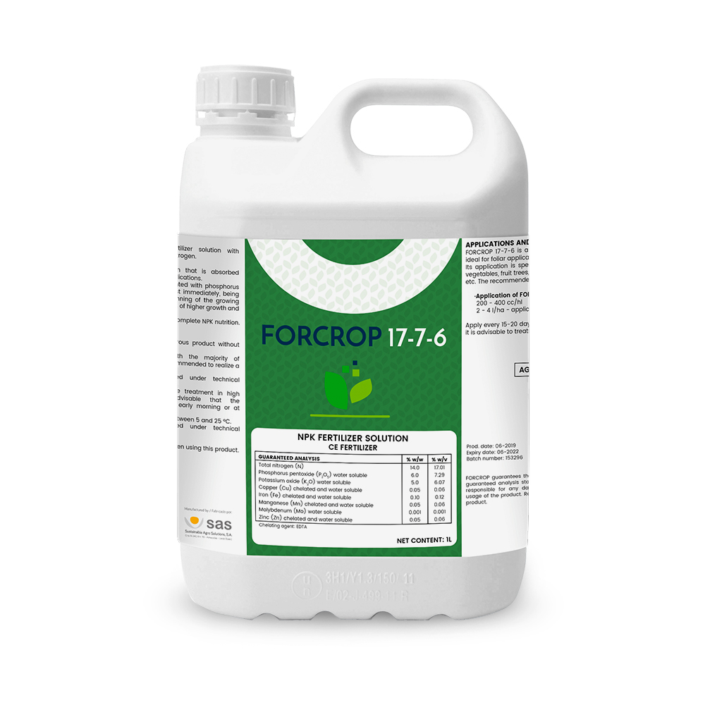 Forcrop 17-7-6 - Productos - FORCROP - SAS