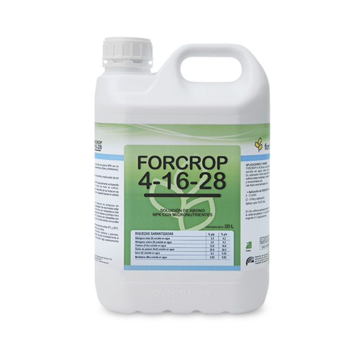 Forcrop 4-16-28 - Productos - FORCROP -SAS