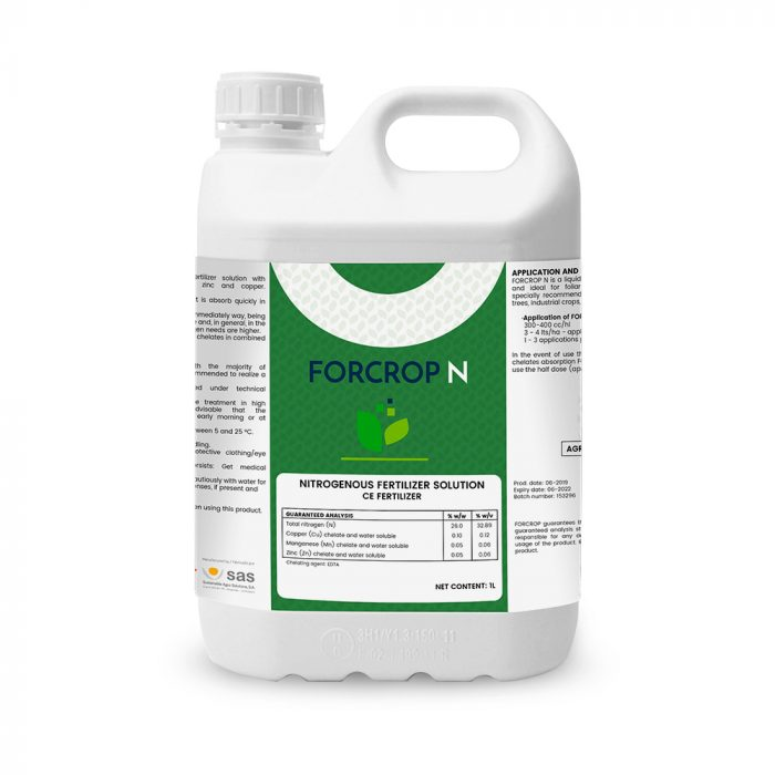 Forcrop N - Productos - FORCROP - SAS
