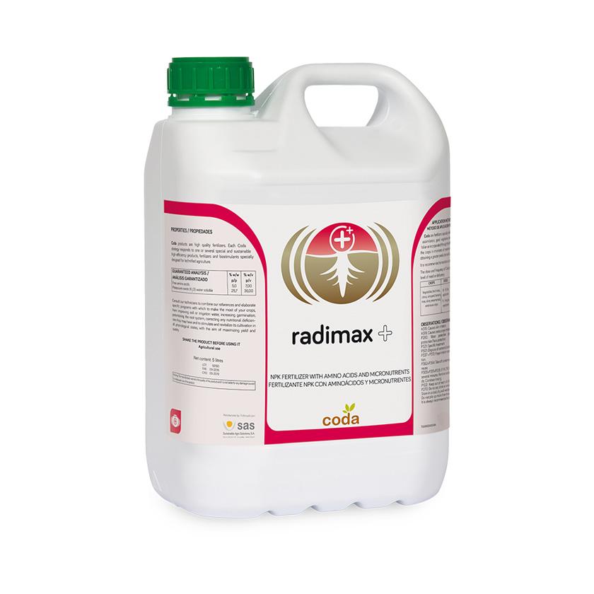 Radimax + - Productos - CODA -SAS