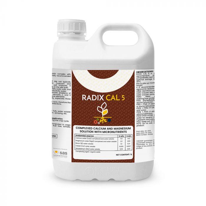 Radix CAL 5 - Productos - FORCROP - SAS