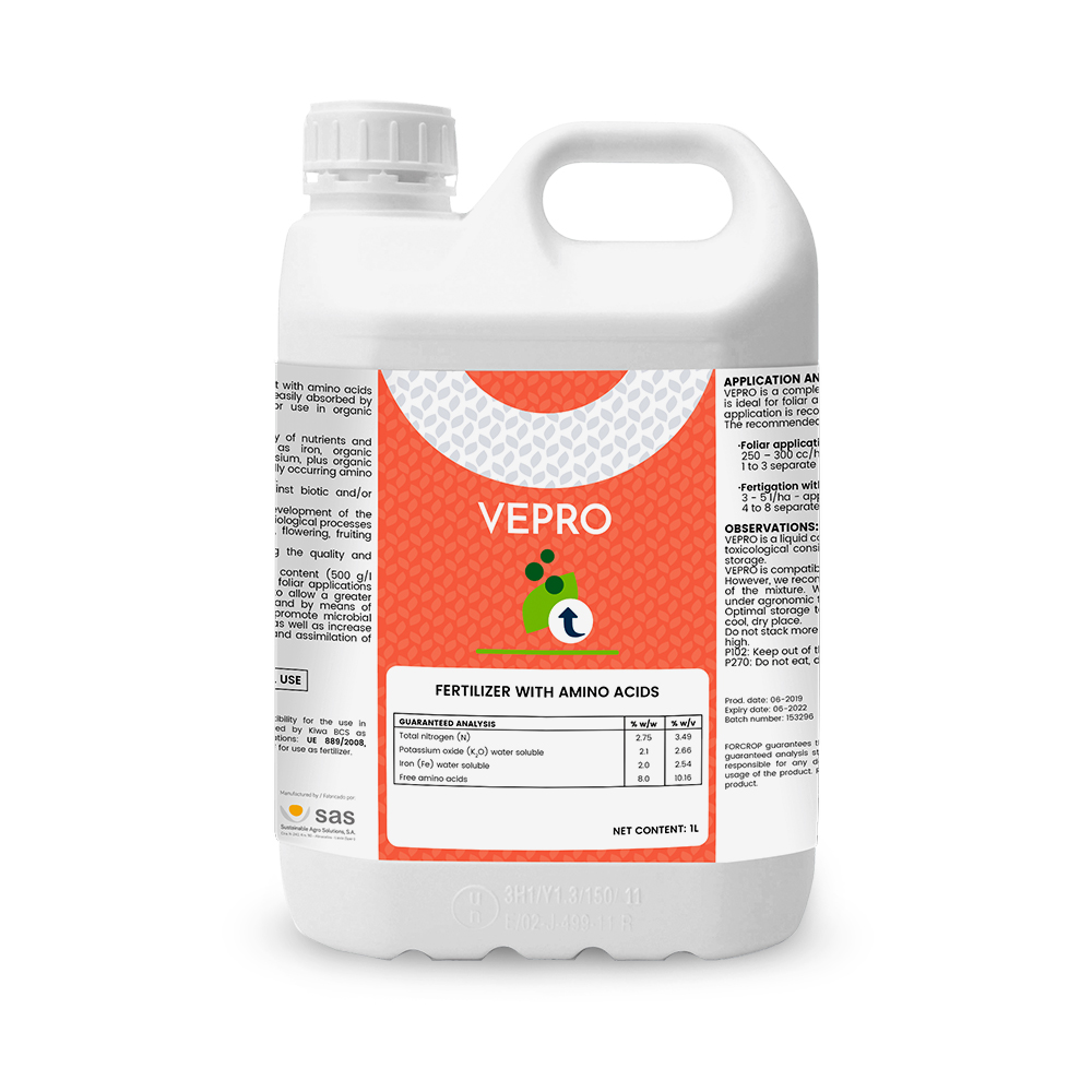 VEPRO - Productos - FORCROP - SAS