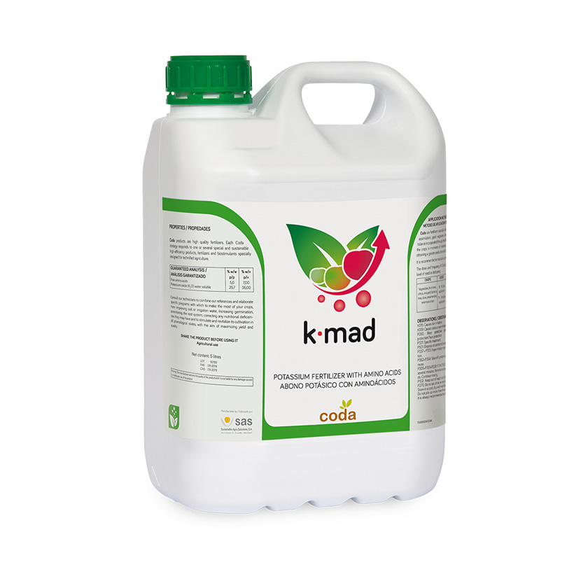 K.mad - Productos - Foliares - CODA - SAS