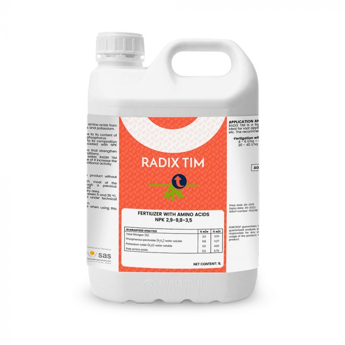 Radix Tim - Productos - FORCROP - SAS