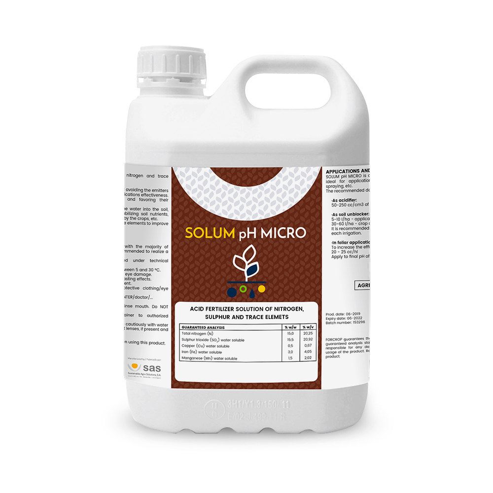 Solum pH MICRO - Productos - FORCROP - SAS