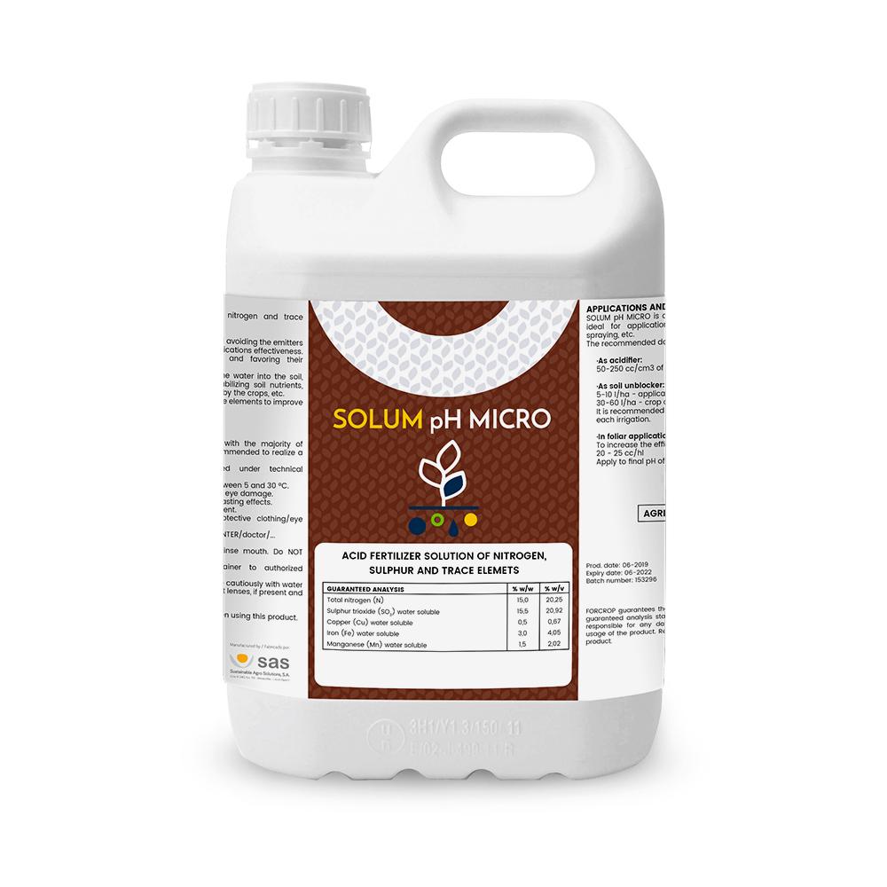 Solum pH MICRO - Productos - FORCROP - SAS