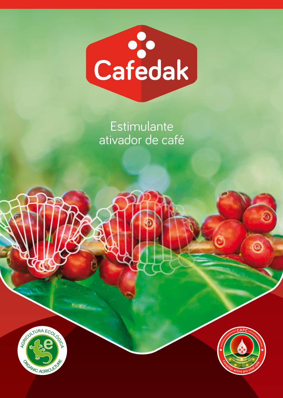Cafedak: Estimulante ativador de café