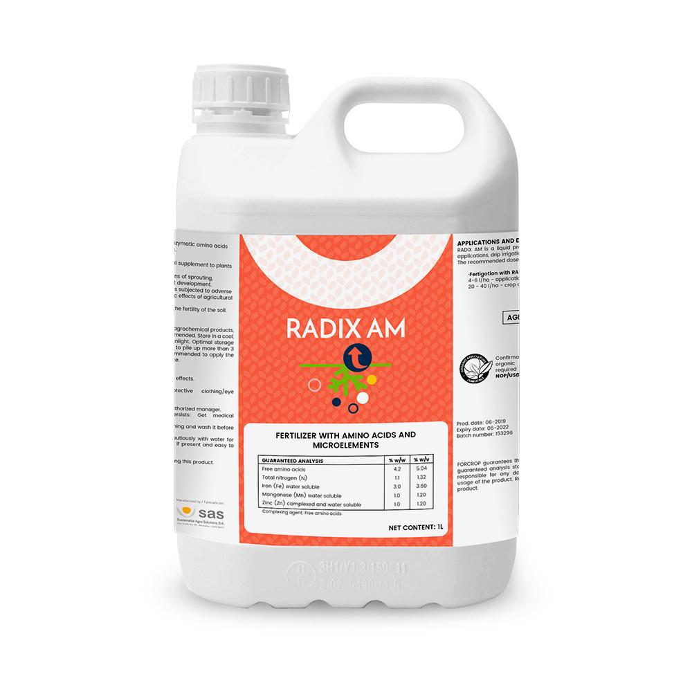 Radix AM - Продукция - FORCROP -SAS