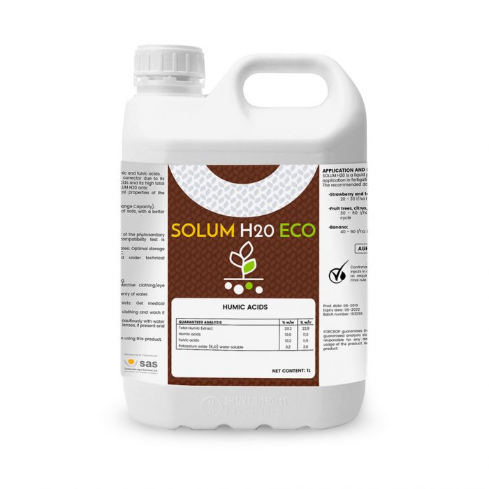 Solum H20 Eco - Produtos - FORCROP - SAS